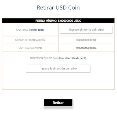 retiros free usdc