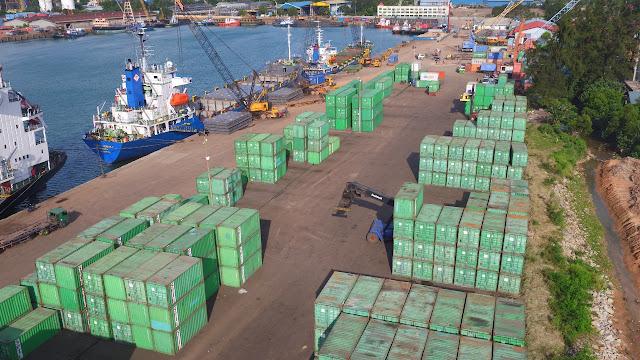 BUP BP Batam Mencatat Aktifitas Bongkar Muat di Pelabuhan Barang Pada Semester I 2021 Meningkat 18 %
