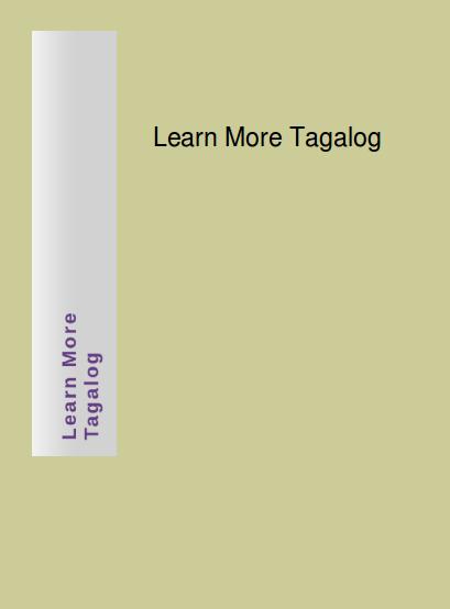 Ebook Tagalog