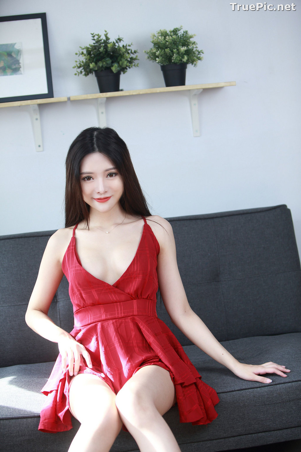 Image Taiwanese Model – 莊舒潔 (ViVi) – Sexy and Beautiful Christmas Girl - TruePic.net - Picture-9
