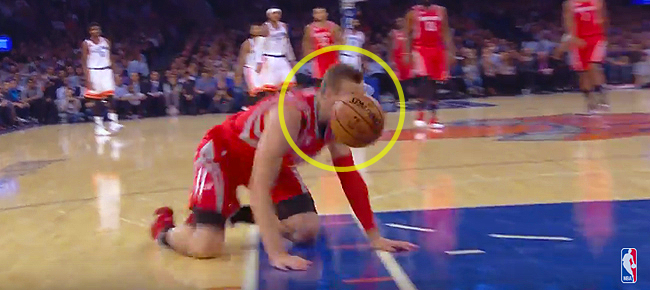 Sam Dekker with Early Contender for NBA Blooper of the Year (VIDEO)