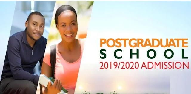 FUNAAB Postgraduate Admission Form 2019/2020 [UPDATED]