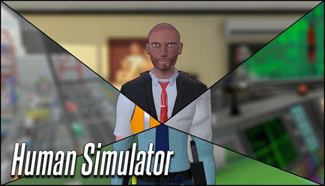 Human Simulator meet the new and very funny human simulator, where the main character named Hugh Mann needs to know what human life is