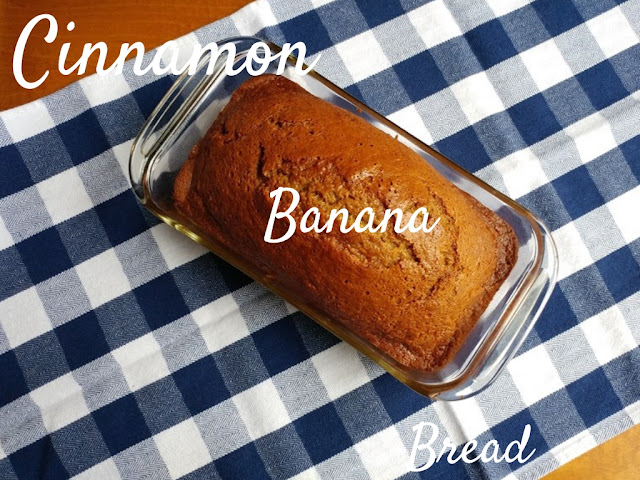 Cinnamon Banana Bread recipe