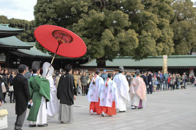 Japanese Traditional Wedding - Meiji Shrine