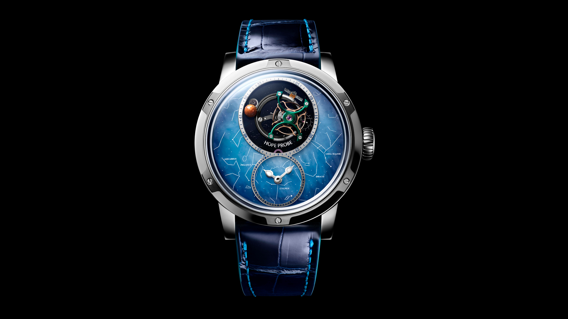 Unique Swiss watch in honor of UAE space mission