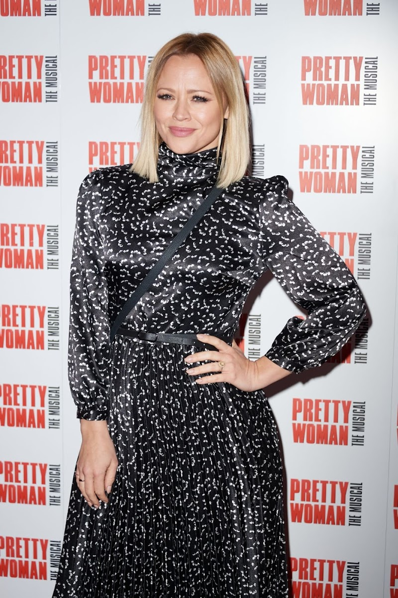Kimberley Walsh Clicks at Pretty Women Press Night in London 2 Mar -2020