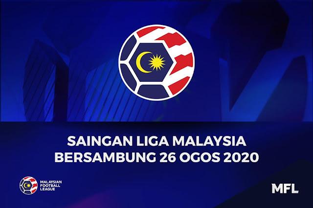 Liga Malaysia Bersambung 26 Ogos, Piala FA Dan Challenge Cup Dibatalkan