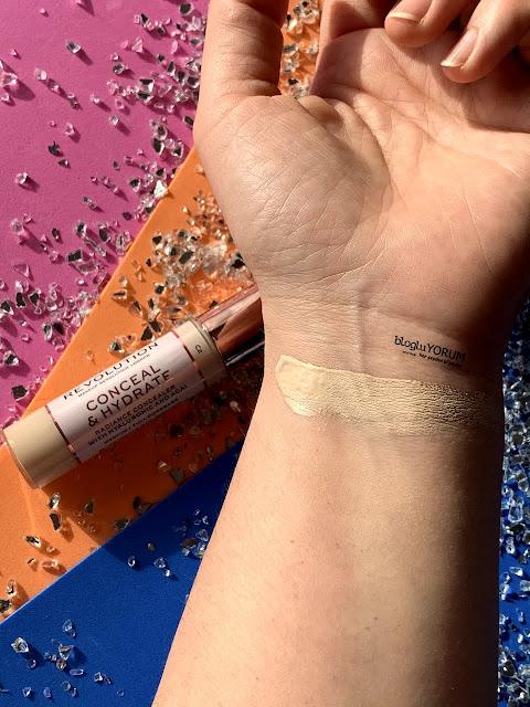 makeup revolution conceal define concealer kapatıcı incelemesi swatch