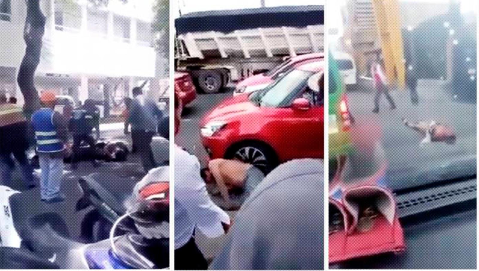 Tres actos de justicia por propia mano [Vídeos]