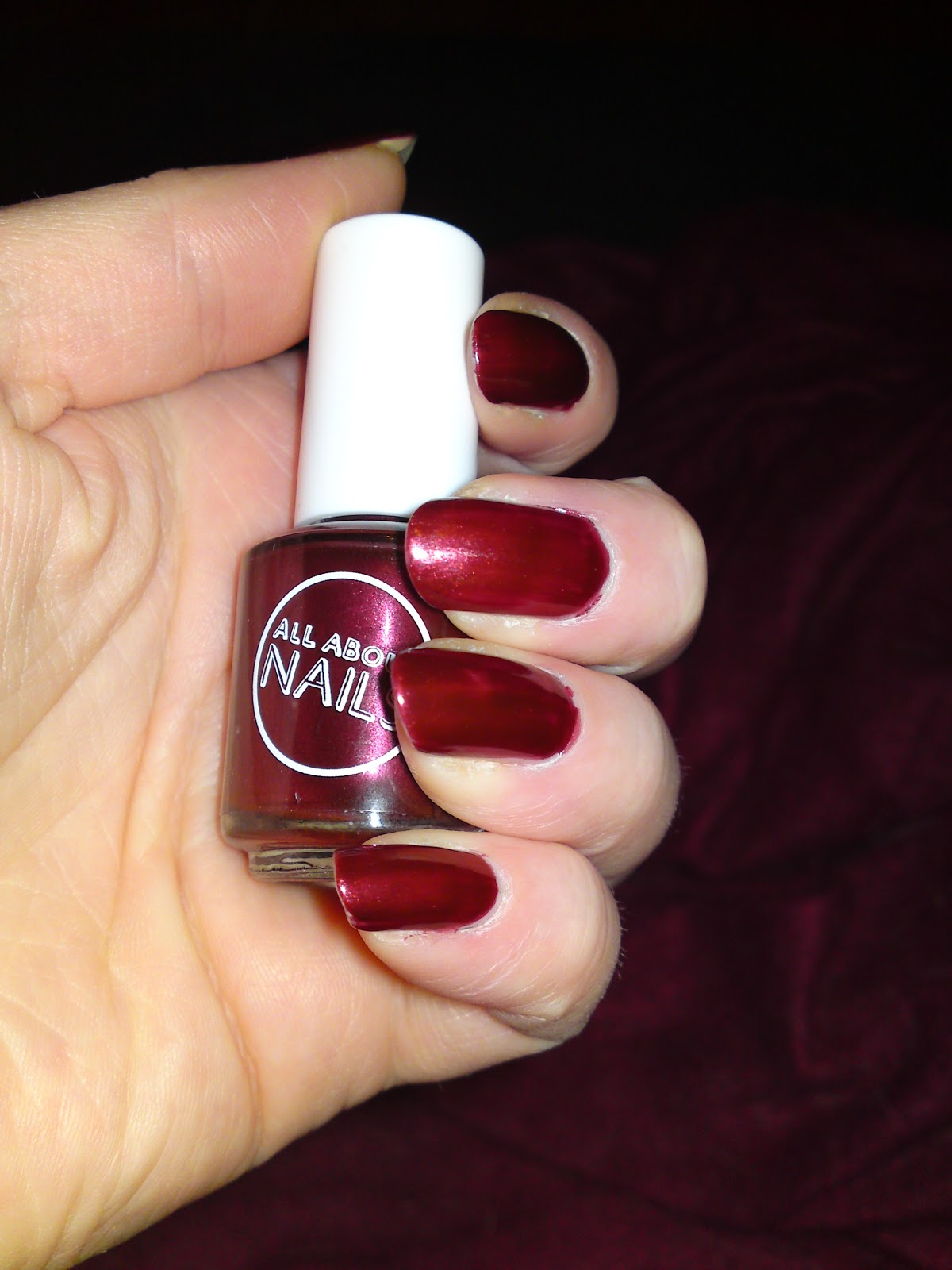 Economy Nails: All About Nails Wild Cherry