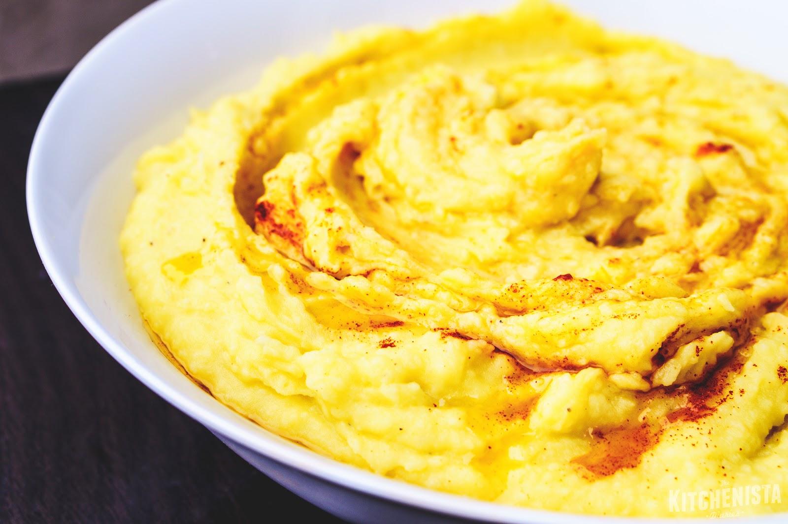 Saffron Potato & Parsnip Mash with Smoked Paprika - The ...