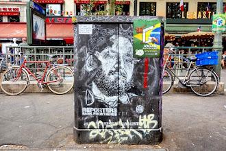 Sunday Street Art : C215 - place de la Bastille - Paris 11