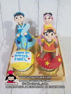 Cupcake Boboiboy Lucu