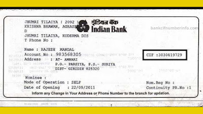 Check Indian bank balance by passbook