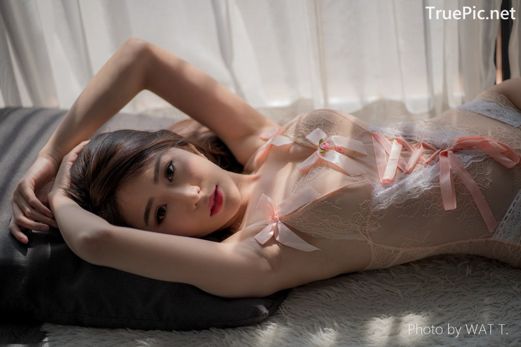 Image Thailand Model - Thipsuda Jitaree - Pink Sky Lingerie - TruePic.net - Picture-3