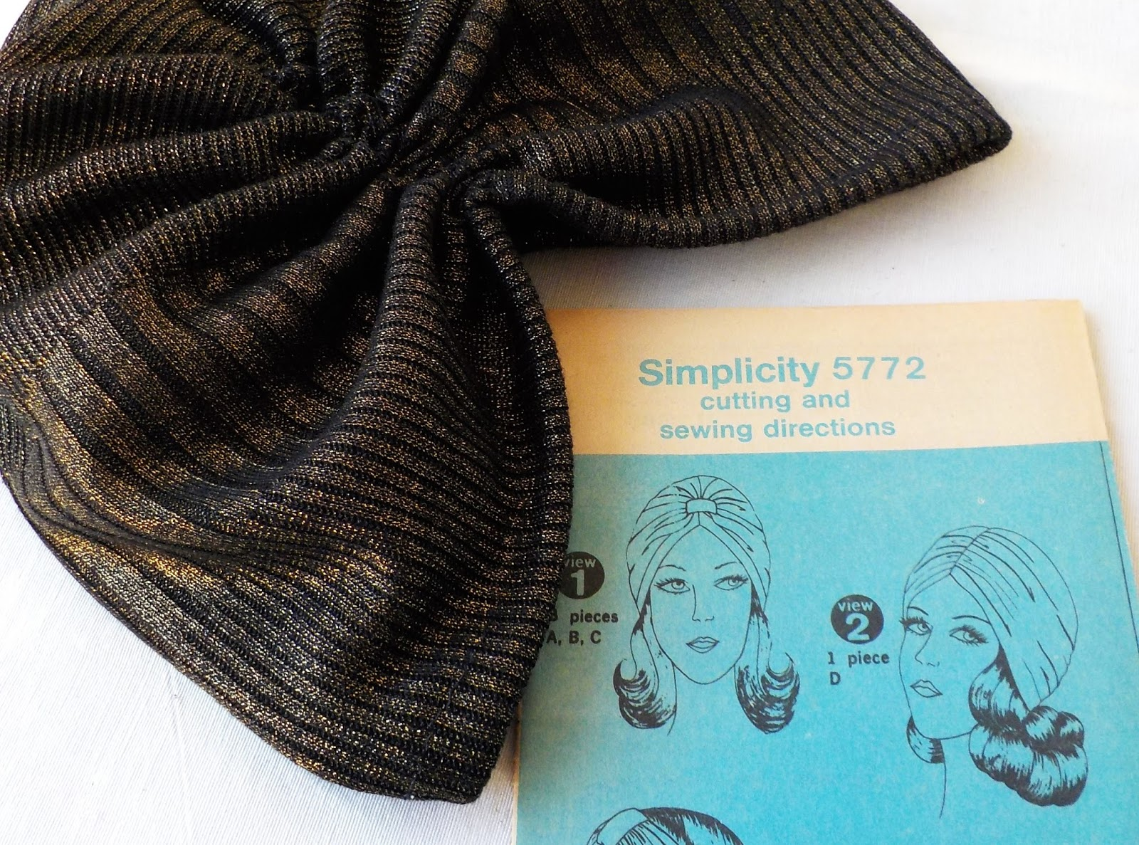 I finally got round to that vintage turban pattern I d been longing to make. f95a5dbb85d