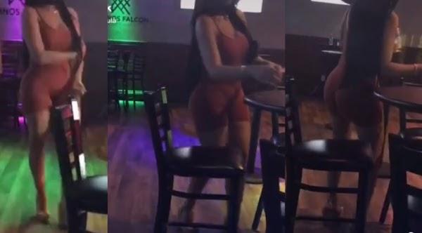 Se aparece el demonio en un bar y espanto a todos los asistentes
