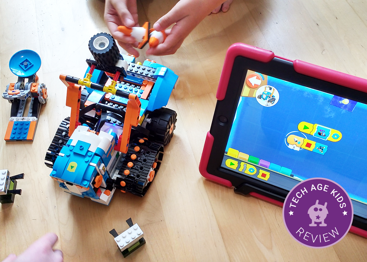 LEGO Boost Creative Toolbox Hands-On Review | Tech Age Kids