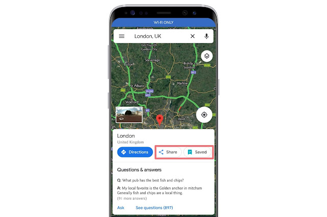 Save And Share Places On Google Maps