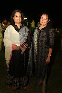 Lathika Ragunathan with Vani-