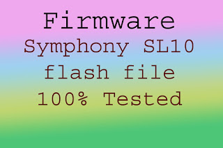 Symphony S110 firmware file without password