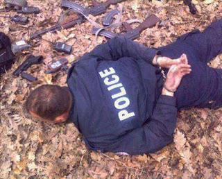Policia arrestado