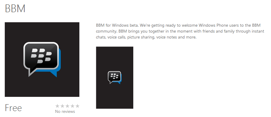 Download BBM untuk Windows Phone [BETA]