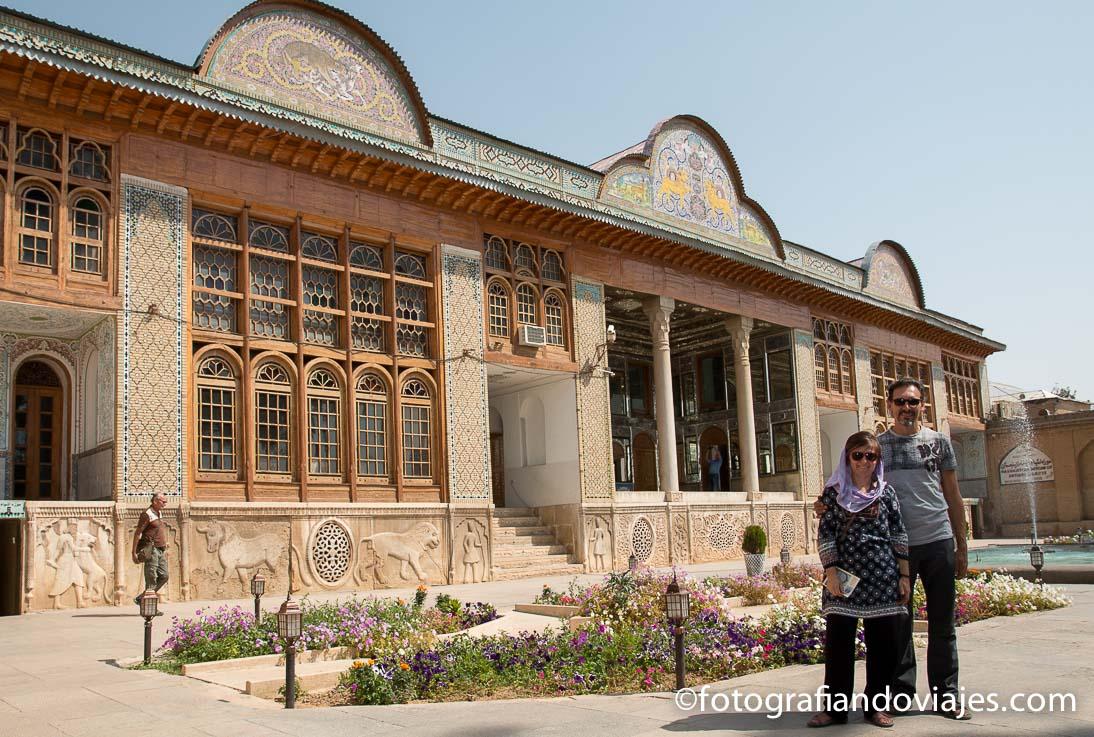 Palacio jardin Naranjestan Qavam en Shiraz