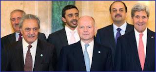 μία μάχη «κατά των τρομοκρατών και των μισθοφόρων της Δύσης».