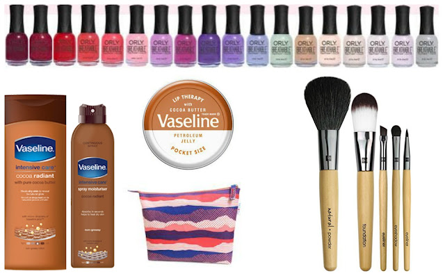 Summer Holiday Essentials - summer beauty products