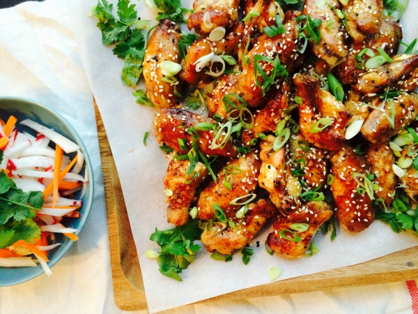 sweet and spicy chicken wings recipes