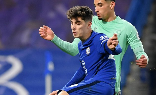 Chelsea's 2-goal Havertz: I keep going, train hard and give my best