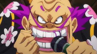 ワンピースアニメ 992話 ワノ国編   ONE PIECE 黒炭オロチ  Kurozumi Orochi