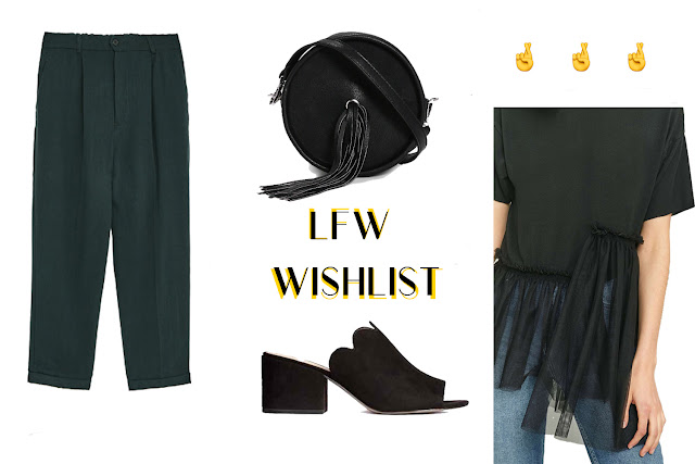 London Fashion Week Wishlist from Mallzee Shopping App