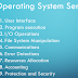 What is Operating System Services
