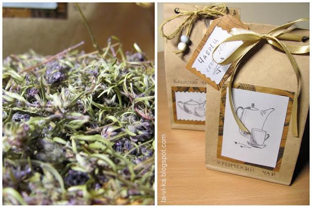 подарок на 8 марта своими руками - чай