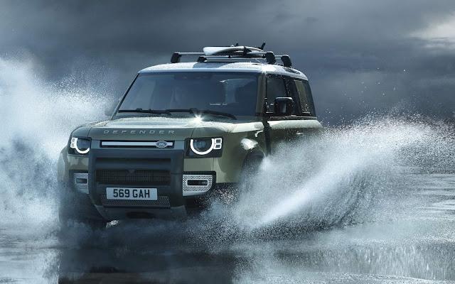 Novo Land Rover Defender chega ao Brasil em 2020
