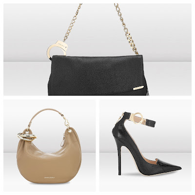 Jimmy Choo Handcuff Inspired Heels and Handbags