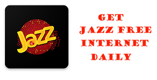 How to Get Jazz Free Internet Daily