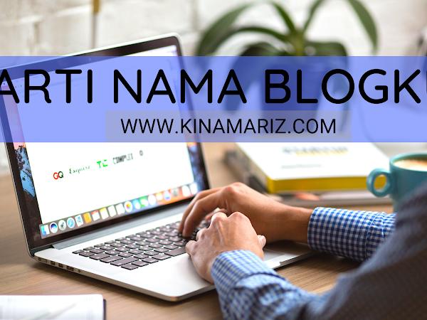 Arti Nama Blog Kinamariz.com, Sakinah Menulis - Literasi Bertransformasi