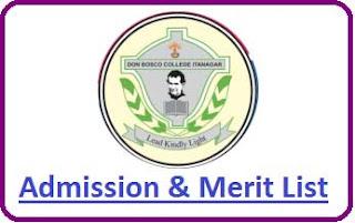 DBC Itanagar Merit List