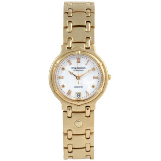Krug Baumen Charleston 4 Diamond Wristwatch