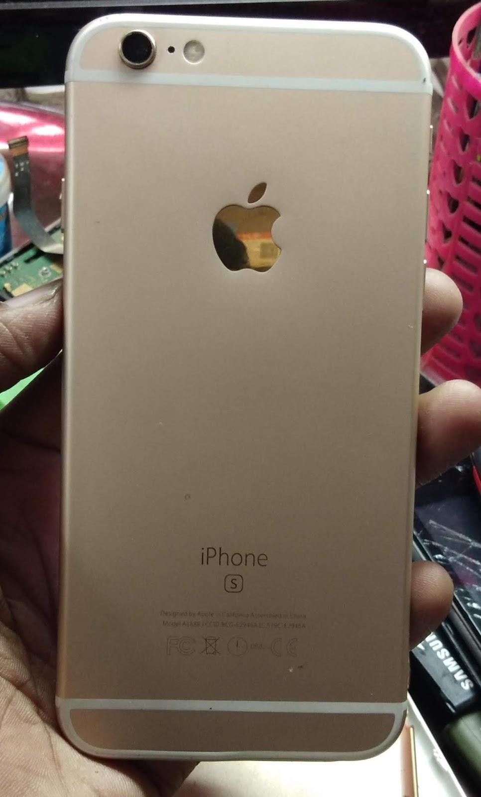 iphone 6s plus flash file