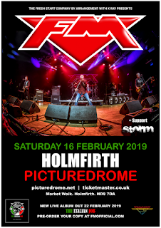 FM at Holmfirth Picturedrome - Sat 16 Feb 2019 - poster