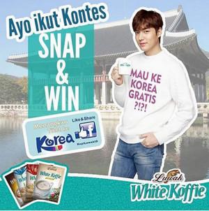 Mau ke Korea Gratis?? Yuk Ikutan Kontes Luwak White Koffie Lee Min Ho!
