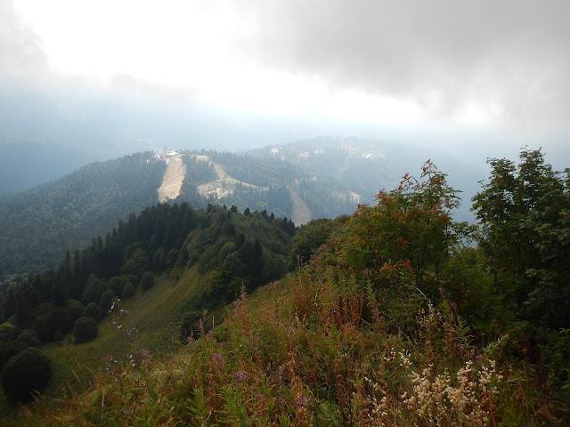 Тропа с горы Табунная