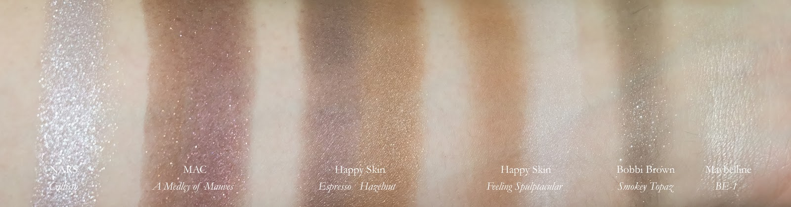 Best Eye Shadow Color product review swatches