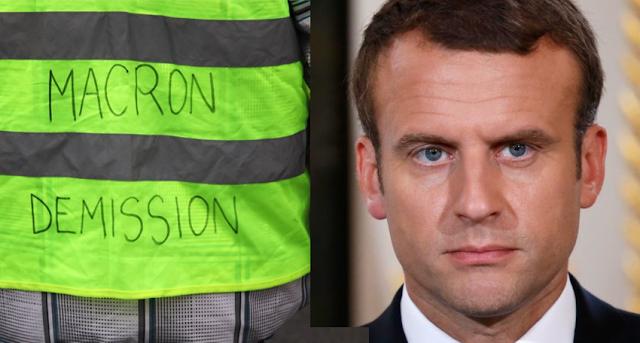 Enmanuel Macrón evacuado de un teatro parisino entre gritos y abucheos.