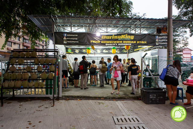 Durian Stall Pictures